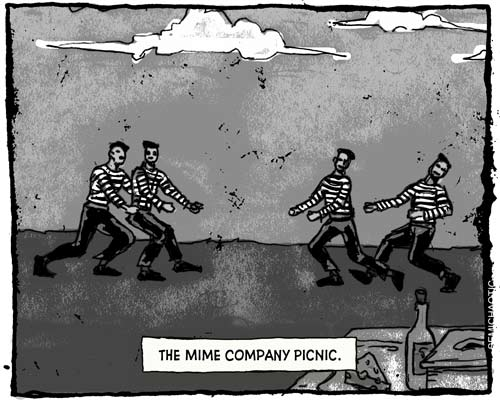 Cartoon: Company Picnic